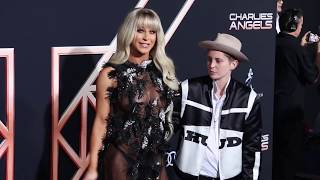 Gigi Gorgeous & Nats Getty - Los Angeles premiere of 'Charlie's Angels