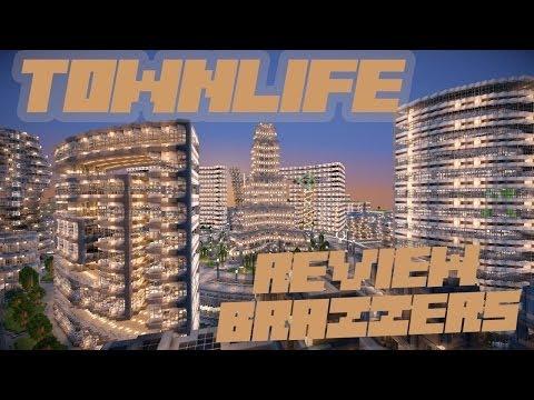 МайнКрафт - Войны городов - Обзор BraZZerS