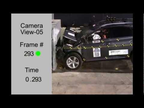 Краш-тест 2013 Lexus RX270/RX350/RX450h (NHTSA Frontal Impact)