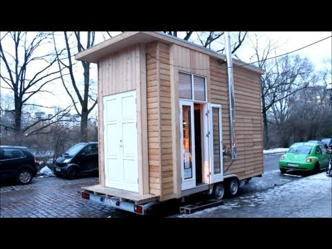 100 EURO WOHNUNG?! | LEBEN AUF 6,4m² | #Tiny100 | Minimalistisch wohnen