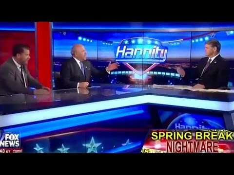 Hannity & Guest Blames Gang Rape On Jon Stewart video