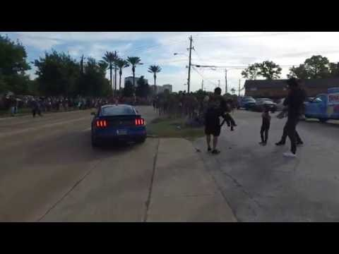 Mustang crash coffee and cars Houston 10/1/16