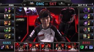 OMG vs SK Telecom T1 K | Game 1 Grand Finals All-Star 2014 | SKT T1 K vs OMG G1