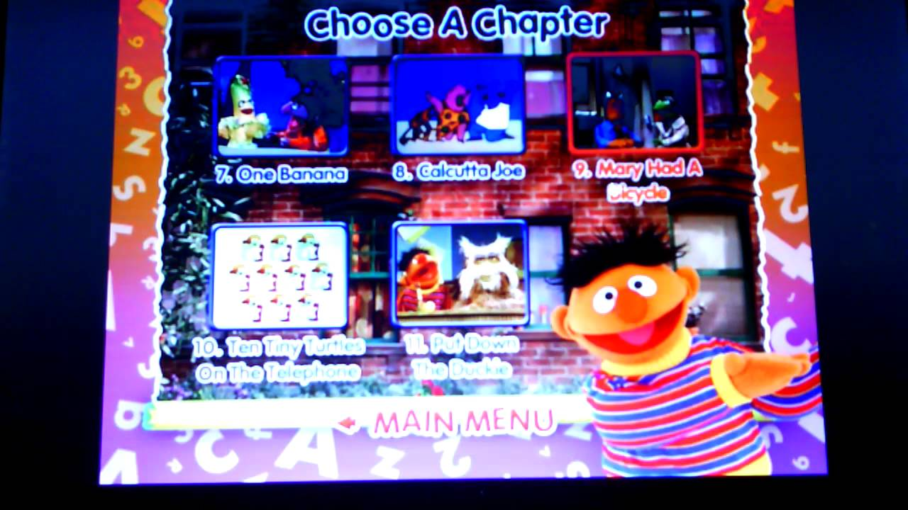Sesame Street Sing Hoot And Howl Vhs Sesame Street - Sing Yourself