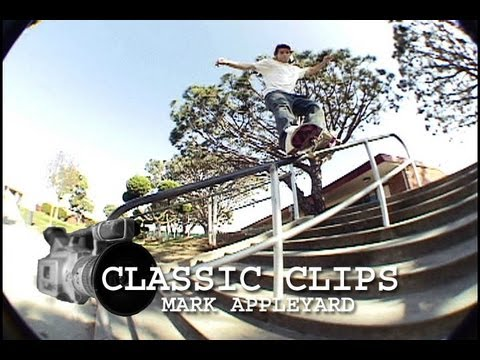 Skateboarding Classic Clips #4 - Mark Appleyard