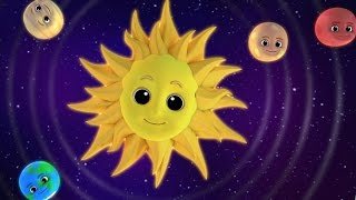 Luke & Lily - Planets Song | Nursery Rhymes | Songs For Children | Video For Kids And Babies
