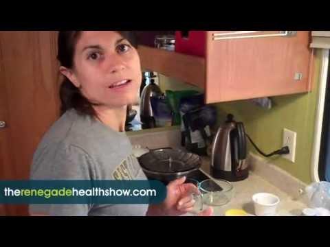 Raw Food Recipe Chopped Lentil and Mustard Salad #657