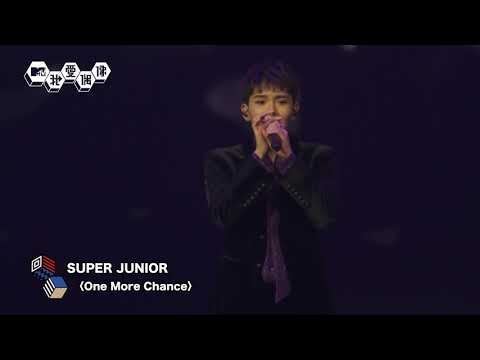 【Live】SUPER JUNIOR (슈퍼주니어)厲旭歸隊!合體演唱〈One More Chance〉超好聽!�1008|我愛偶像 Idols of Asia
