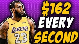 The DETAILS Of LeBron's Salary