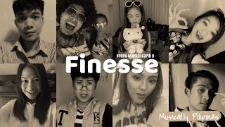 Download Lagu Bruno Mars - Finesse Remix ft Cardi B [Musical.ly Cover] Gratis STAFABAND