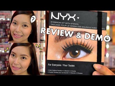 NYX Eye Brow Kit REVIEW & DEMO! - saytiocoartillero