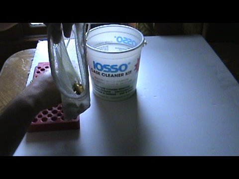 Using Iosso Brass Case Cleaner Part I