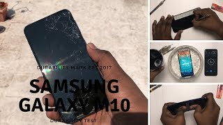 Samsung Galaxy M10 Durability test (Drop test, Bend test,Scratch test, Water & Flame test)