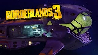 Borderlands 3 - Sanctuary III Space Ship Official Reveal Gameplay Demo