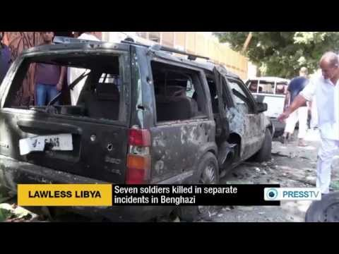 Seven Libyan Soldiers Killed In Lawless Benghazi