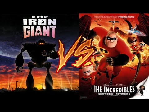 The Iron Giant Vs The Incredibles (Brad Bird's Best Movie?)