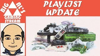 Big Al's Gaming - Current Playlist (8/21/18) - Added Red Dead Redemption 2, Punch Out, Castlevania