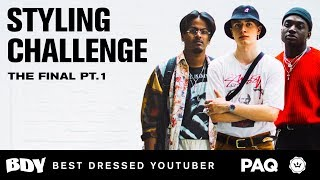 Sangiev, Magnus & Rickey Thompson Compete in a MAD Styling Challenge | Best Dressed Youtuber 2018