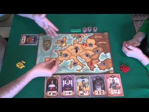 Эпидемия - играем в настольную игру, board game Rattus