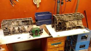 Differences between BMW m52 aluminum engine blocks
