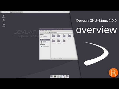 Devuan GNU+Linux 2.0.0 overview | software freedom, your way