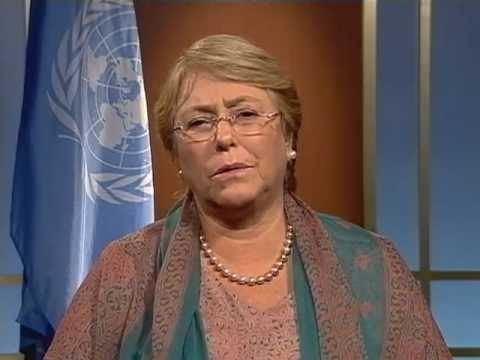 Michelle Bachelet: First International Day of the Girl Child