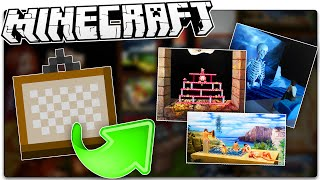 The History Of Minecraft Paintings You NEVER Knew!