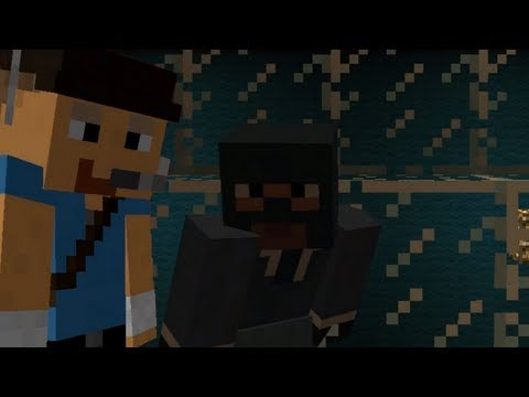 Meet the Spy in Minecraft Music Videos