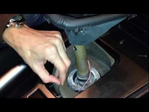 BMW E39 5 Series:  Center Console Trim Install