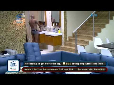 Big Brother Africa Stargame Luke and Jessica Bonking