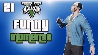 GTA 5 Online Funny Moments Ep. 21 (Hair Glitch, Bike Glitches, Flying Vehicles)