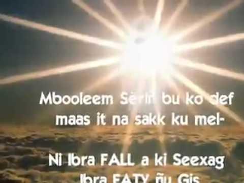 Wolofal Serigne Mbaye DIAKHATE Vidéos de SERIGNE ABDOUL AHAD TOURRE.flv