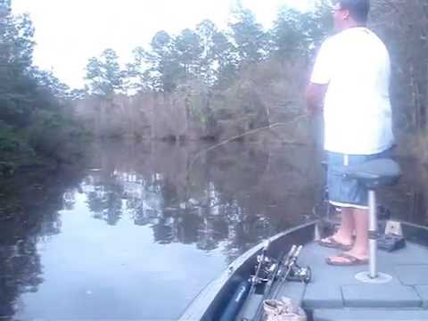 Fishing with Justin in Tchoutacabouffa River Biloxi MS