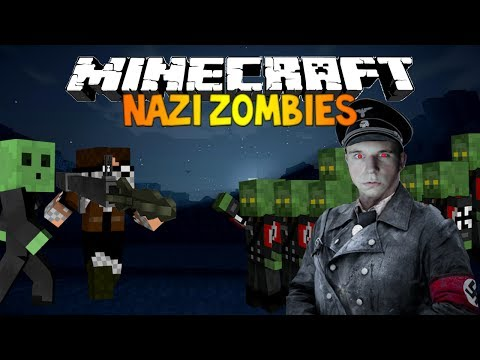 Minecraft: Nazi Zombies [facecam] - Rape Train Mc Version W  Mrwilliamo video