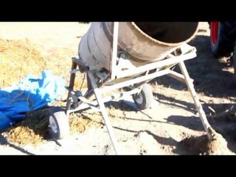 Diy Cement Mixer Cement Mixer Home Built 45