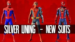 PS4 Spider-man Silver Lining + NEW SUITS