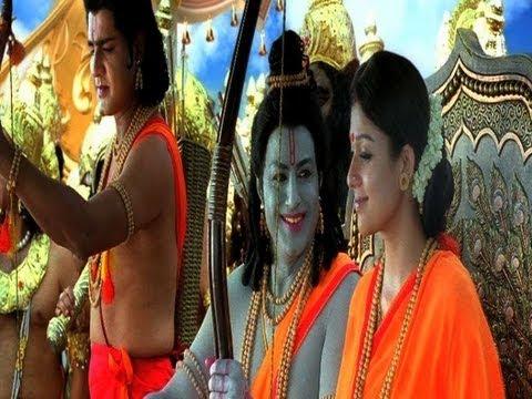 sri ramarajyam songs - jagadananda karaka song - bala krishna...