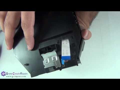 PS3SLIM   320GB   CECH 2502x   KEM 450DAA Laser Mechanism Replacement  by gc repairs