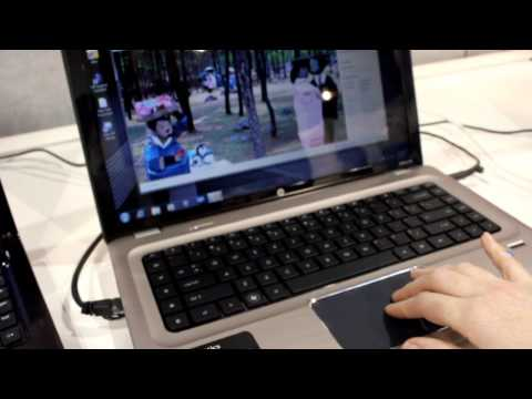 Synaptics Touch Pad Demonstration