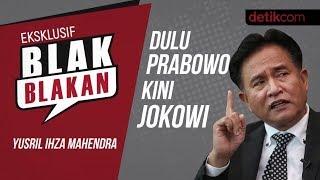 Blak-Blakan Yusril Ihza: Dulu Prabowo Kini Jokowi!!