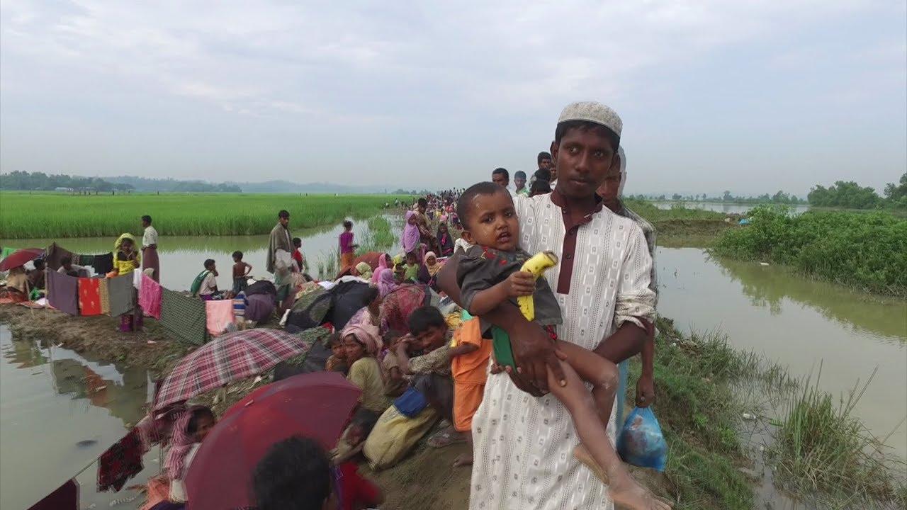 Rohingya exodus compared to Rwanda