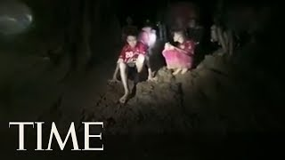 This Is The Moment Rescuers Found The Missing Thai Soccer Team In A Flooded Cave | TIME