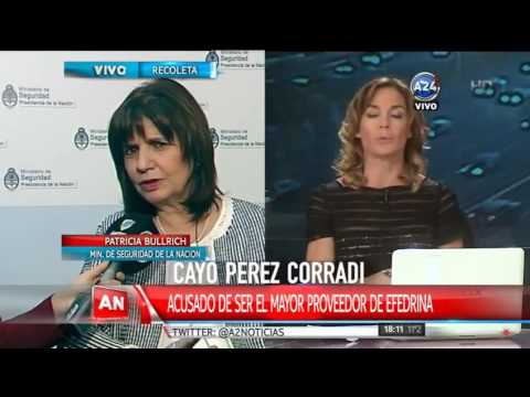 Patricia Bullrich sobre la detendión de Perez Corradi: La gente sabe quién permitía todo