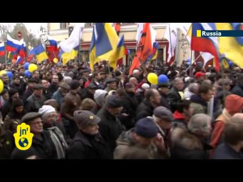 Russians Rally Against Putin's Ukraine Invasion: Huge Moscow anti-war protest