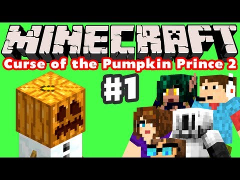 Minecraft - Curse of the Pumpkin Prince 2 - Part 1 - The Journey Home Intro