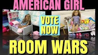 American Girl Room Wars