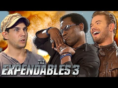 EXPENDABLES 3 New Members! Wesley Snipes, Kellan Lutz meet Daniele Rizzo
