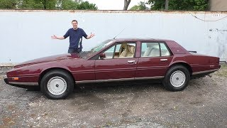 Aston Martin Lagonda за $370 000 - это самая странная люксовая машина в истории