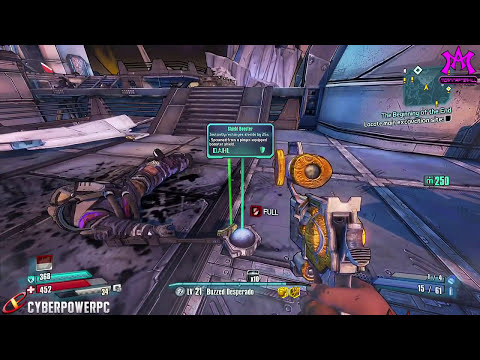 Borderlands Presequel Buzz Lightyear Easter Egg! Toy Story Easter Egg In Borderlands The Pre-Sequel!