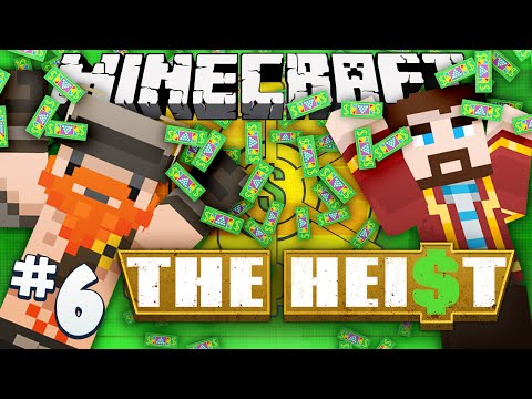 Minecraft - The Heist #6 - Getaway Train (payday 2 Adventure Map) video